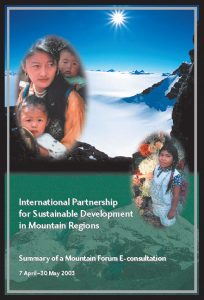 International Partnership for Sustainable Development in Mountain Regions