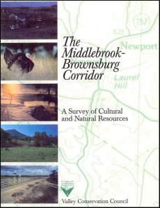 The Middlebrook-Brownsburg Corridor—A Survey of Cultural and Natural Resources