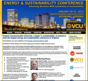 Energy and Sustainability Conference