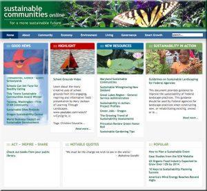 Sustainable Communities Online