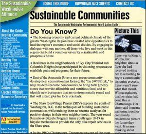 Sustainable Washington Health Action Guide
