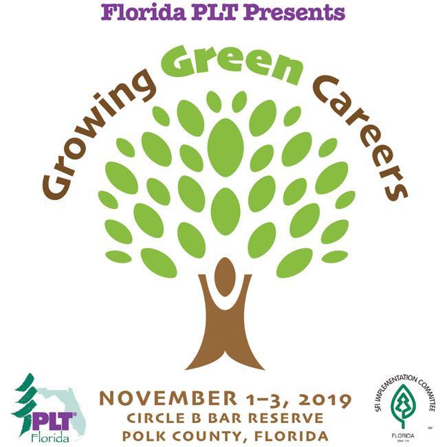 Growing Green Careers 2019 FL PLT Logo