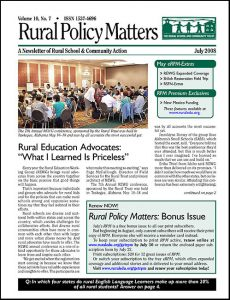 Rural Policy Matters