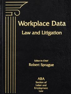 Wordplace Data: Law and Litigation