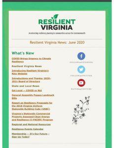 Resilient Virginia E-News