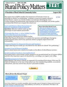 Rural Policy Matters E-News