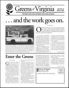 Greens of VA Winter 2000